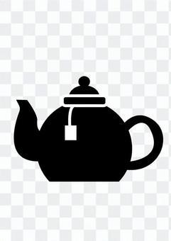 茶壺(輪廓)