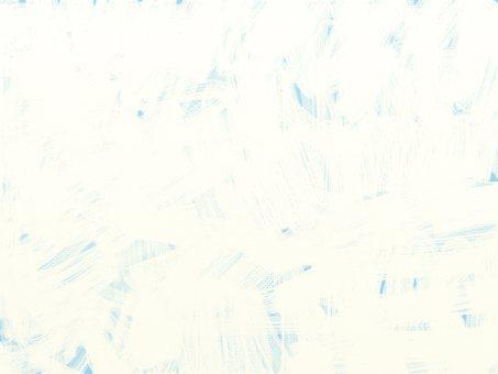 帶有白色油漆背景的藍色帆布
