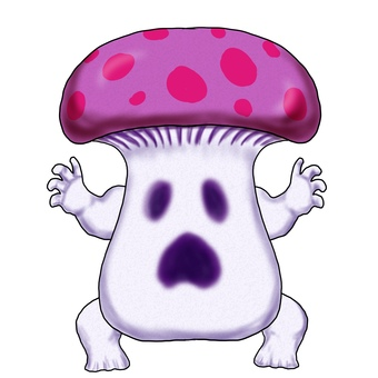 Poisonous mushroom monster