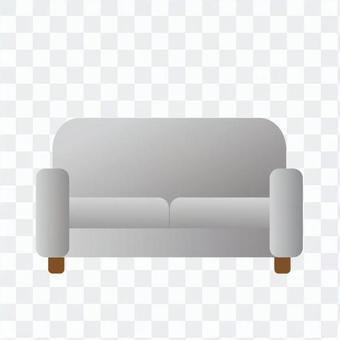 Gray sofa
