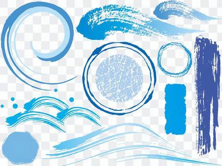 各種c藍色cs
