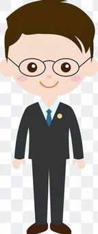人職業製服(男)律師