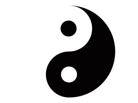 Yin Yang Taijitu Icon Free Material