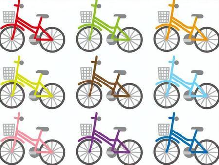 各種自行車