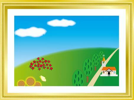 绘画和框架