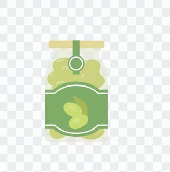 深綠色橄欖