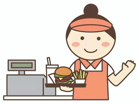 Hamburger shop / fast food