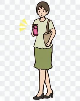 我瓶水的女人,可持續
