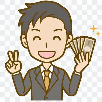 男(辦公室工作人員):B_ money 04 BS