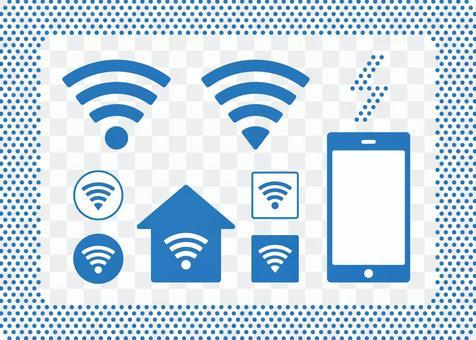 Wi-Fi象形圖(圓角)
