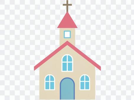 教会,粉红色