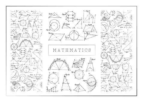 一組數學形狀