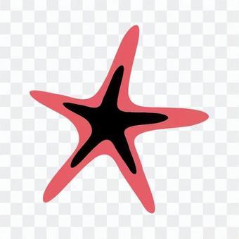 Red starfish 4