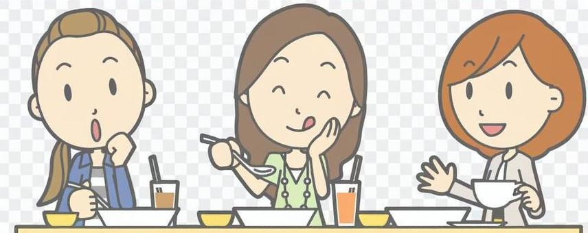 婦女午餐胸圍
