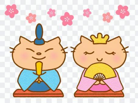 Hinamatsuri茶虎斑貓