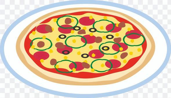 メニュー ピザ イタリアン