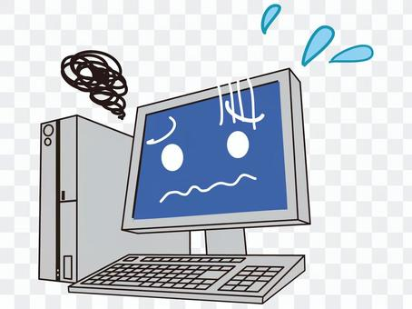 麻煩的電腦
