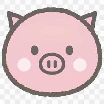 可愛的動物豬
