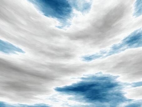 天空和雲彩B