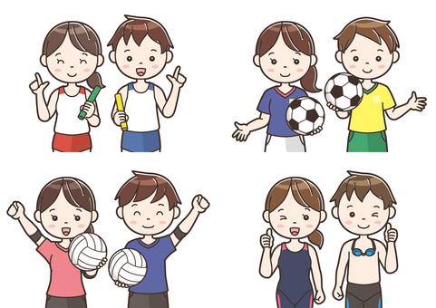 Club activity illustration 11