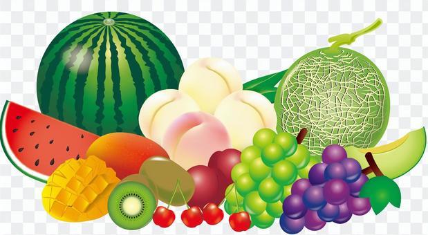 夏のフルーツ盛り