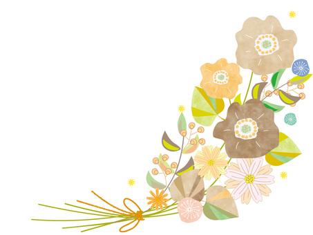 秋花花束_斯堪的納維亞風格