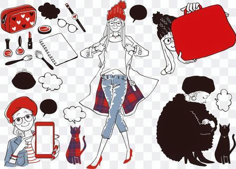 Women fashion fashion