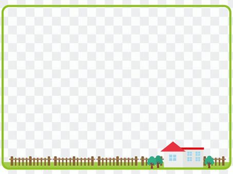 House decorative frame 2