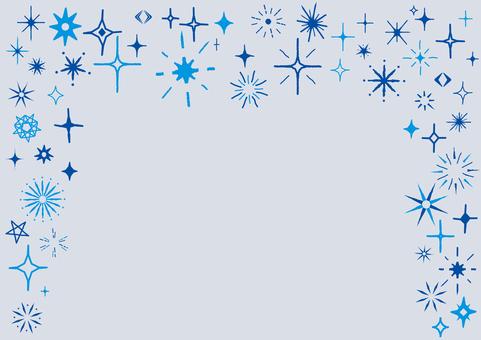 Glitter 2 blue 具有模擬感