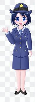 女警冬天的衣服