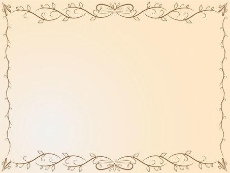Calligraphy frame creation