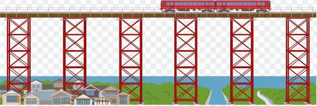 鐵路風光7尤部鐵橋