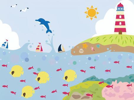 Marine Illustration