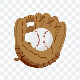棒球手套和球