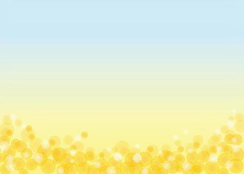 蒲公英,背景,A4水平,與油漆
