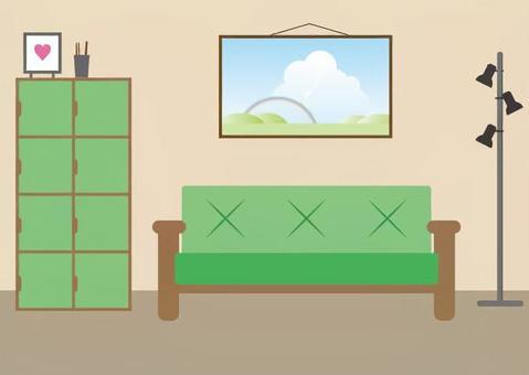 在室內的插圖5