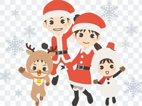 B581_聖誕節家庭1