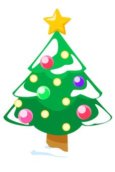 聖誕圖標聖誕樹