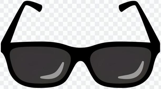 眼鏡-02(黑色太陽鏡)