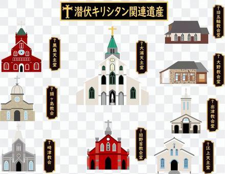 長崎觀光景點①潛伏的基督教相關遺產