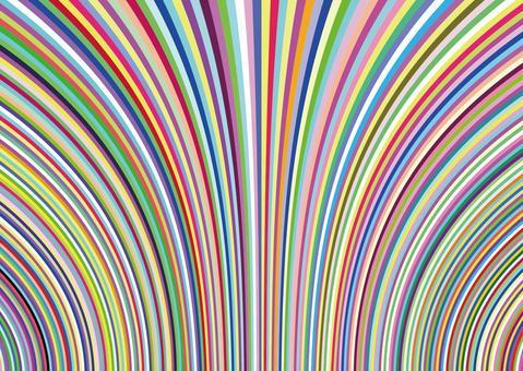 多彩膨脹壁紙