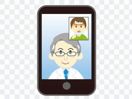 遠隔診察6-オンライン診療 携帯