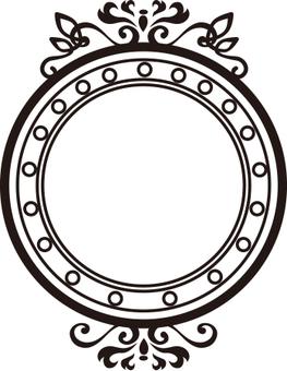 裝飾圓形框架