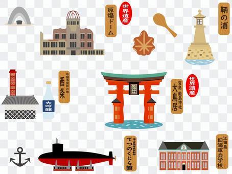 廣島的旅遊景點