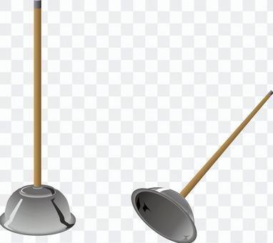 ラバーカップ トイレ つまる 清掃用具