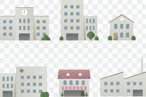 各種建築集