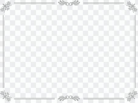 灰色豪华框架