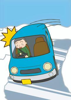 驾驶雪路2