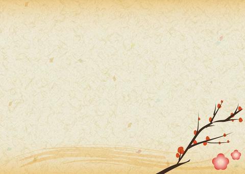 Japanese paper · plum E