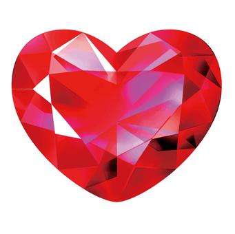 美麗的紅寶石